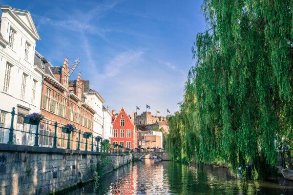 Canal i Ghent photo