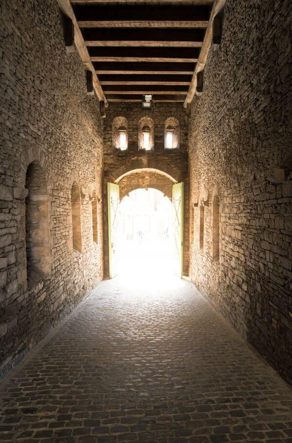 Medieval gate photo