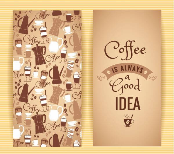 Coffee concept design.  vector