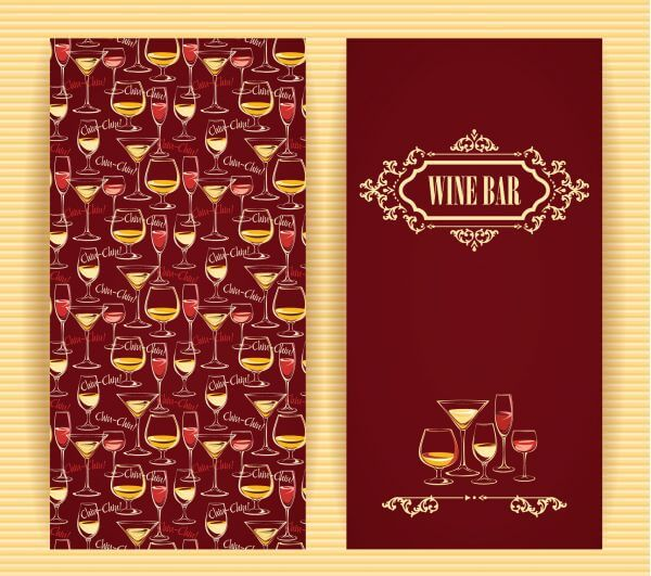 Wine concept design.  vector