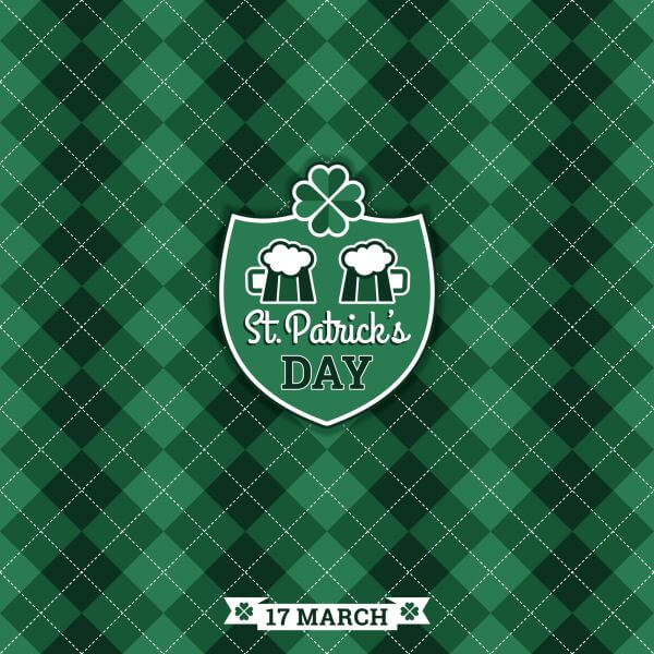 Saint Patricks Day baskground. Vector illustration vector
