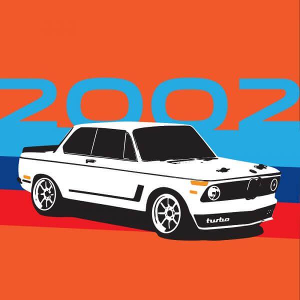 BMW 2002 vector