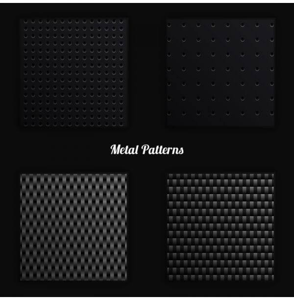 Metal Vector Patterns vector