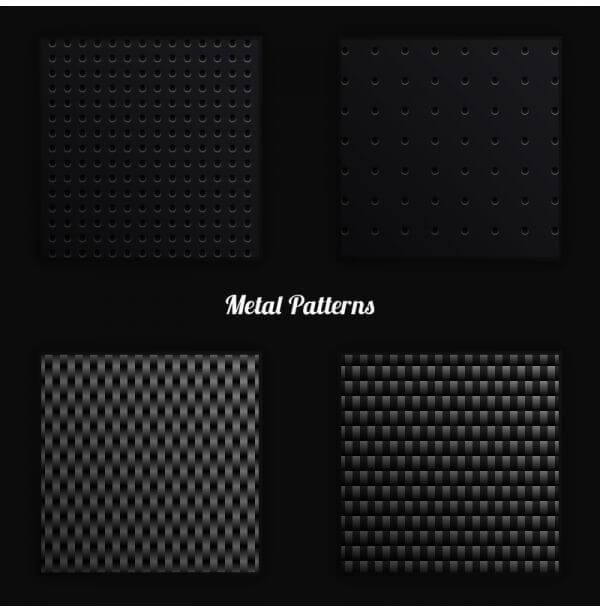 Metal Vector Patterns vector