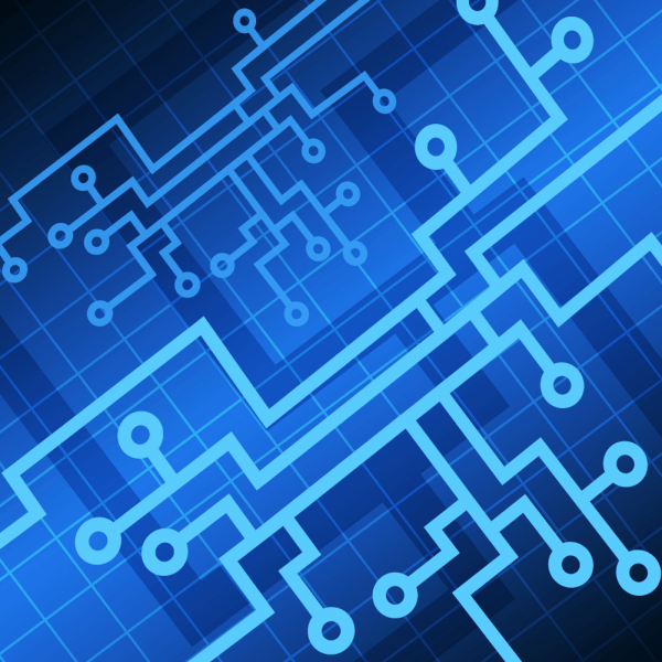 Vector Tech background vector