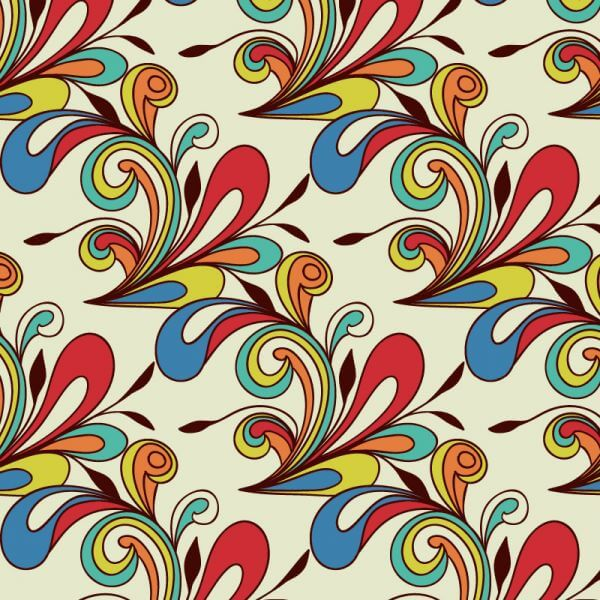 Doodle abstract pattern vector