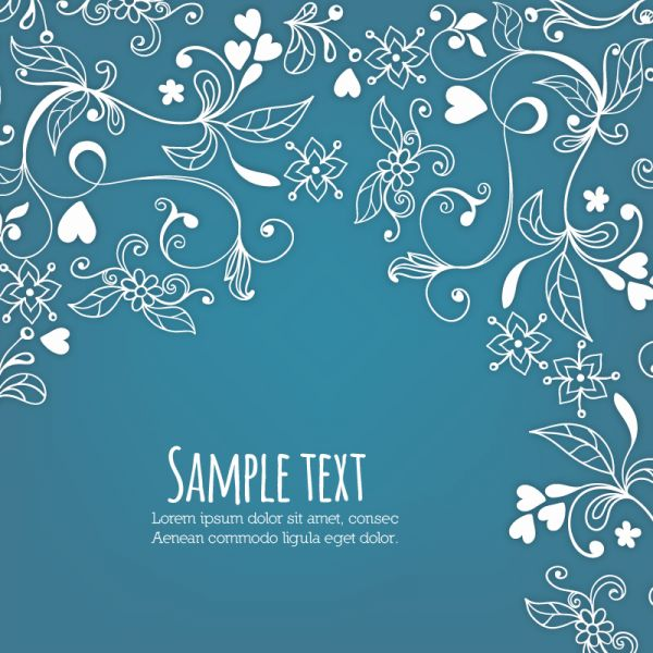 Doodle vector illustration with typography vector