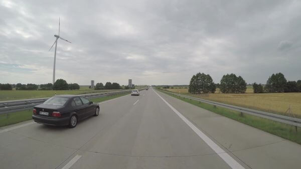 Track  autobahn  road video