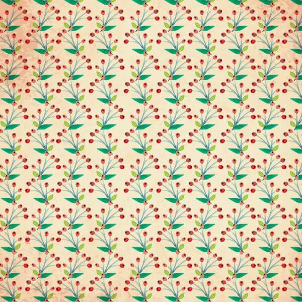Watercolor vector pattern with flowers vector
