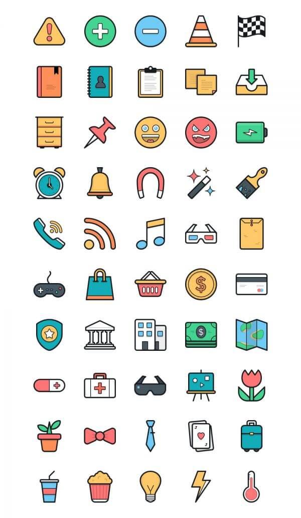 Lulu Icons - Set 2 vector
