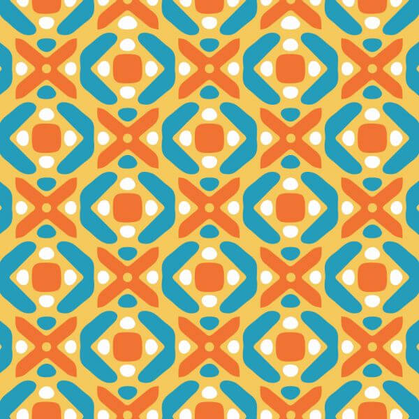 Playful Abstract Pattern vector