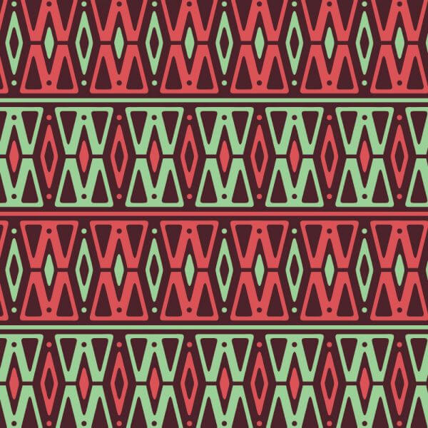 Retro Neon Pink and Green Pattern vector