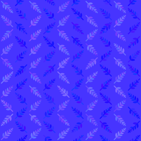 Blue Nature Pattern vector
