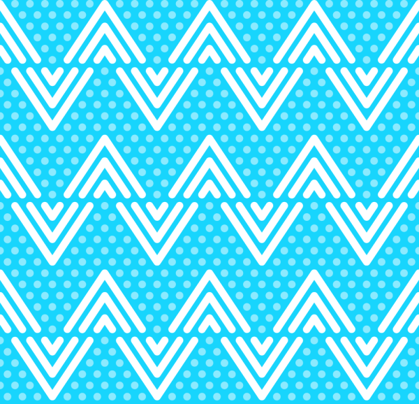 Blue Dots and Lines Pattern vector