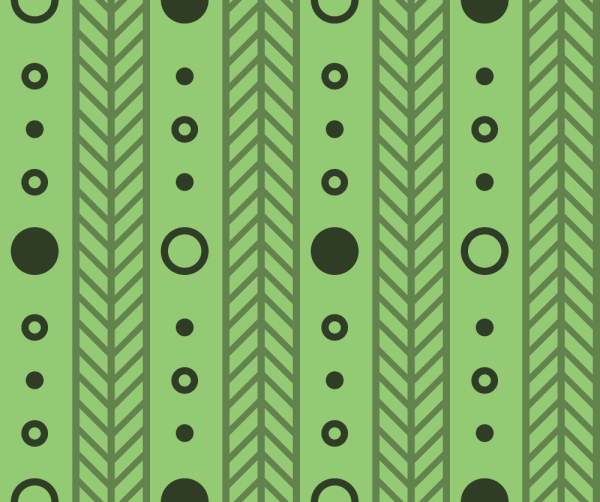 Green Line Pattern vector