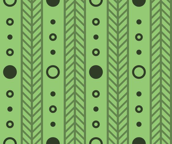 Green Line Pattern