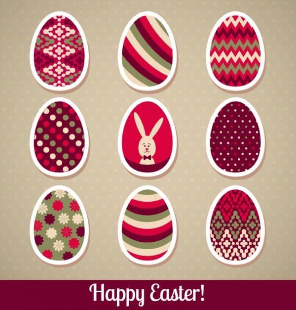 Easter illustration vector