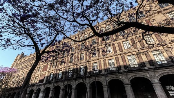 Mexico city  time lapse mexico  government palace video