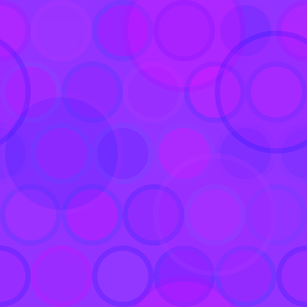 Purple Circles Pattern vector