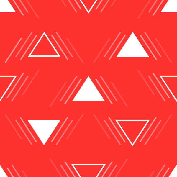 Action Triangles Pattern vector