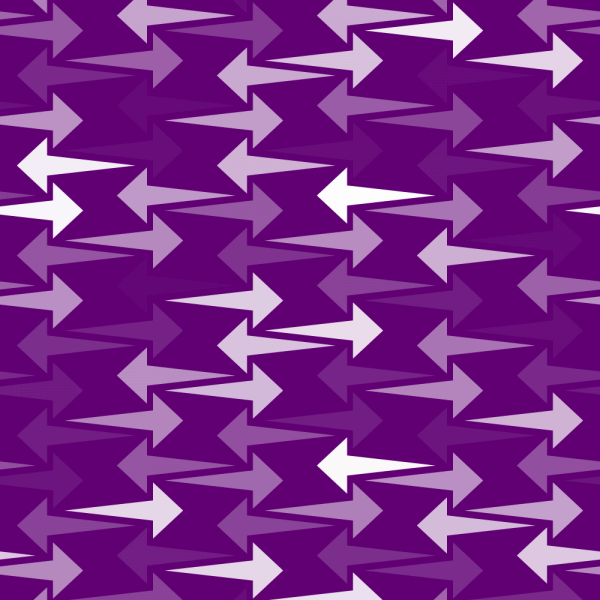 Purple Arrows Pattern vector