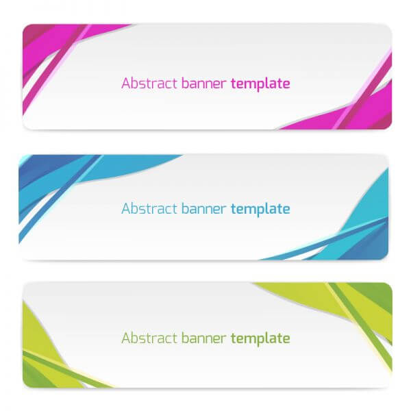 Abstract vector banners vector