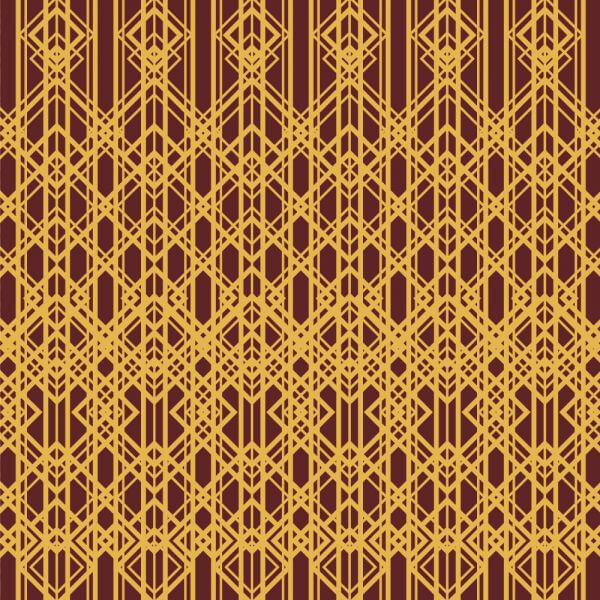 Roaring 1920s style pattern  vector
