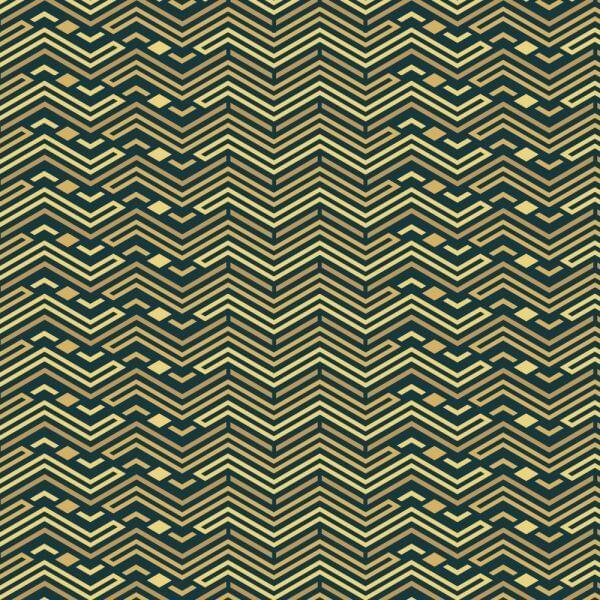 Roaring 1920s style pattern  vector