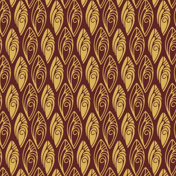 1920s Shell style Pattern vector