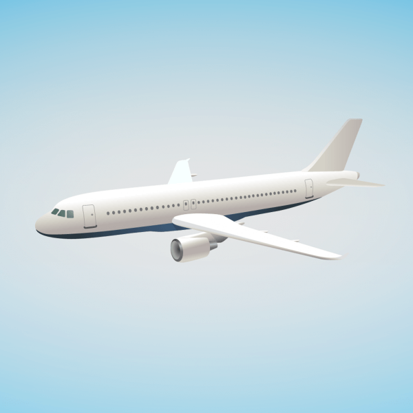 airbus illustration vector