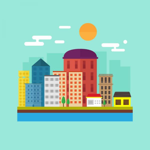 Skyline Illustration vector