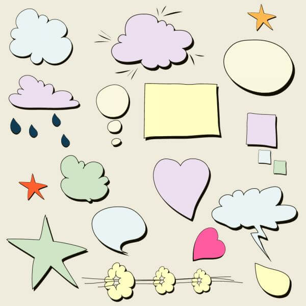 Chat bubbles  vector