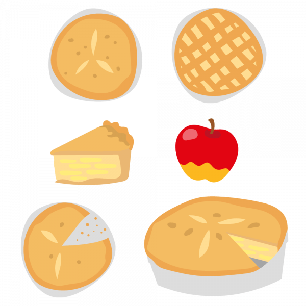 Delicious Apple Pie Vectors vector