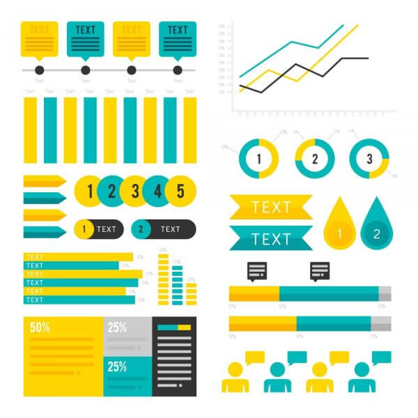 Infographic Assets vector