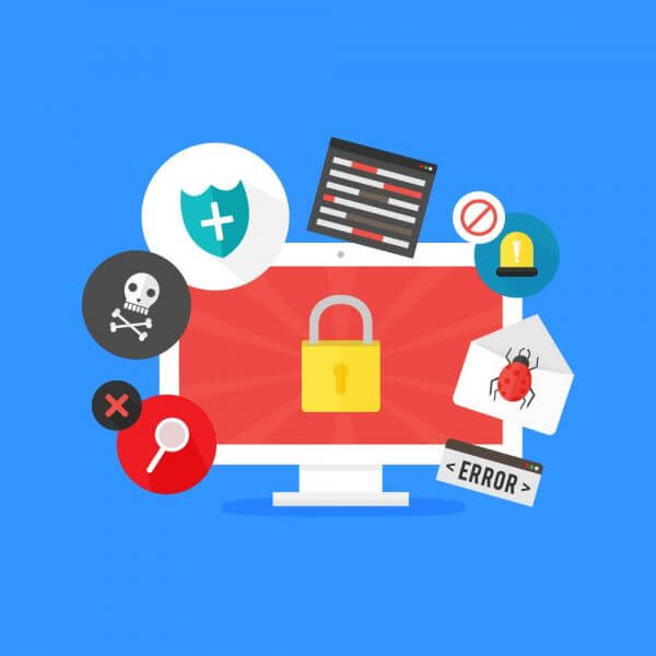 Online Security vector