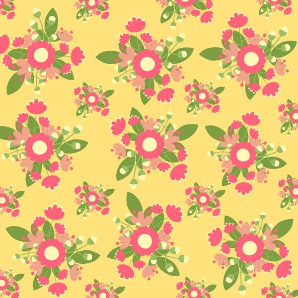Hand draw seamless pattern vector