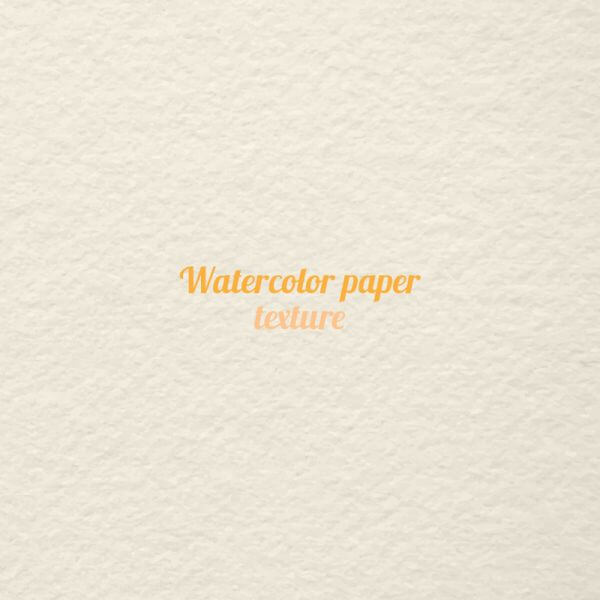 Watercolor paper texture  vector