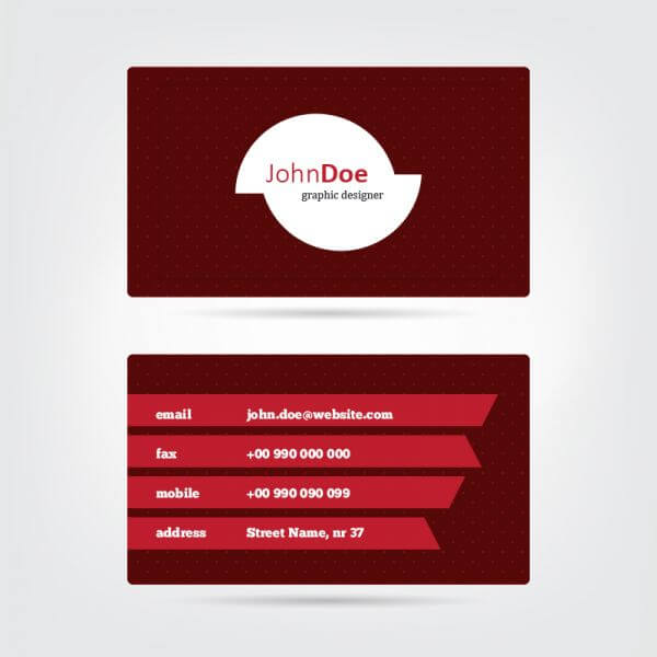 Vector Business Card vector