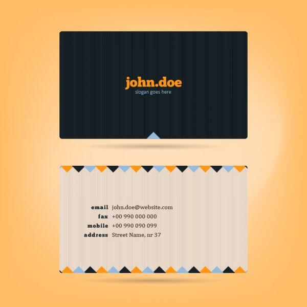 Vector Business Card vector
