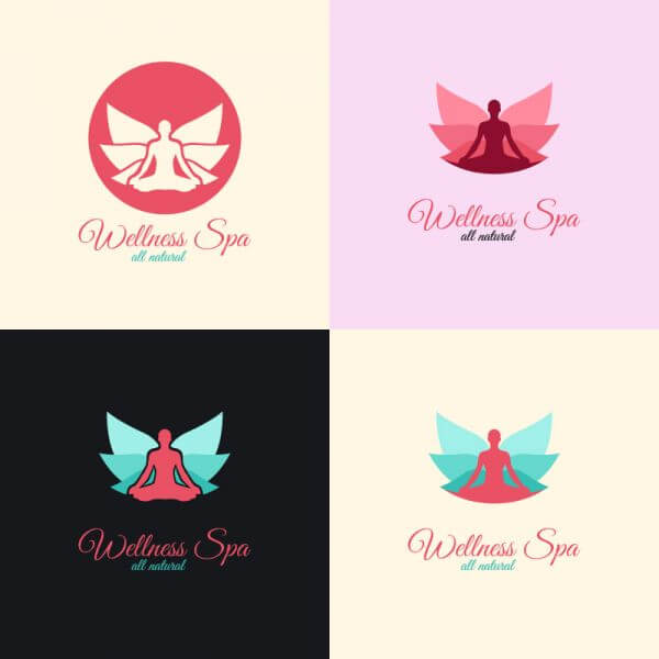 Wellness Spa Logo vector