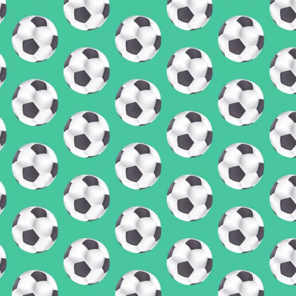 Pattern with ball  vector