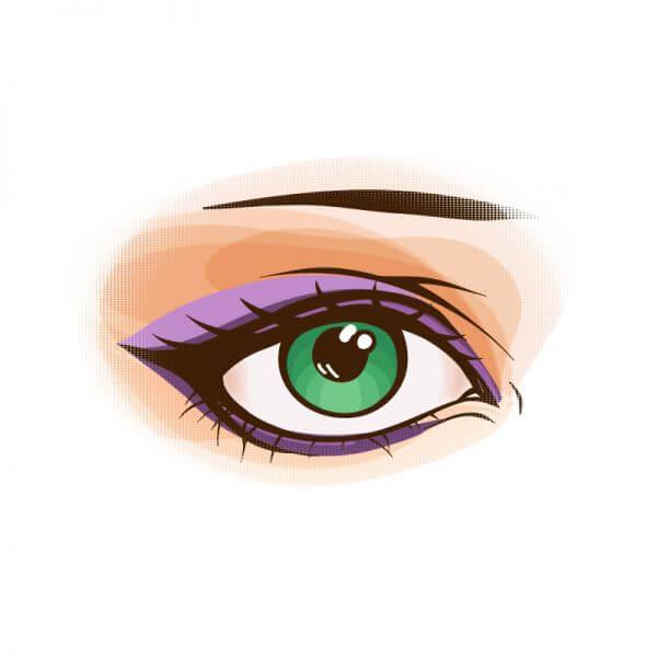 Vector eye vector