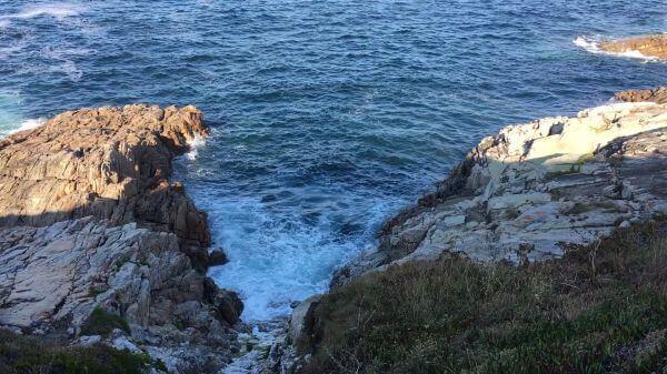 Waves  foam  water video