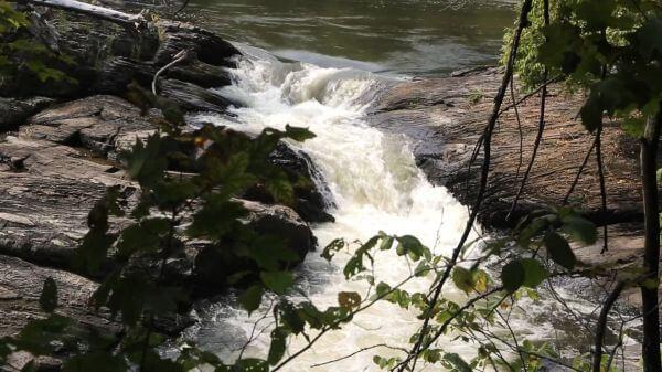 Waterfall  cascade  flow video