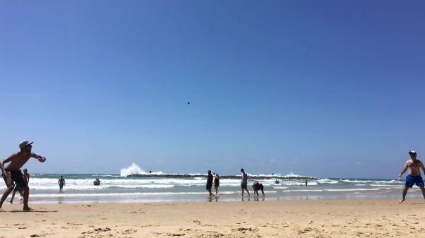 Matkot  beach  play video