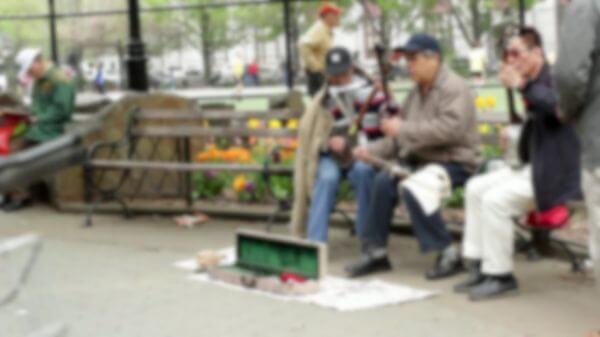 China town  street artists  musicians video