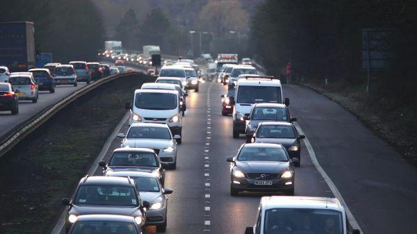 Road  autobahn  motorway video