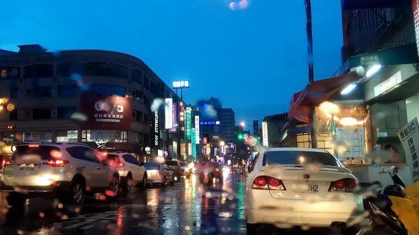 Street  it's raining  the rain namely view video