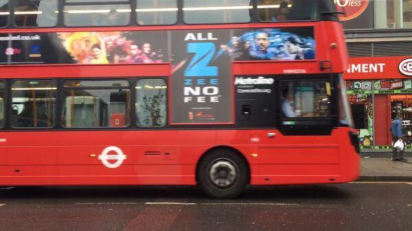 London  traffic  cars video