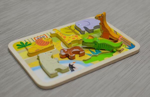 Kids puzzle photo